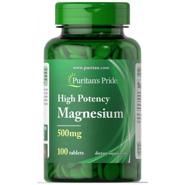 Magnezij 500mg, 100 tablet