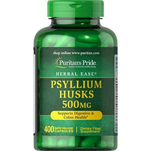 Psyllium lupine 500mg (indijski tropotec), 400 kapsul