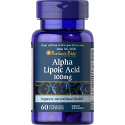 Alfa lipoična kislina 100mg, 60 kapsul