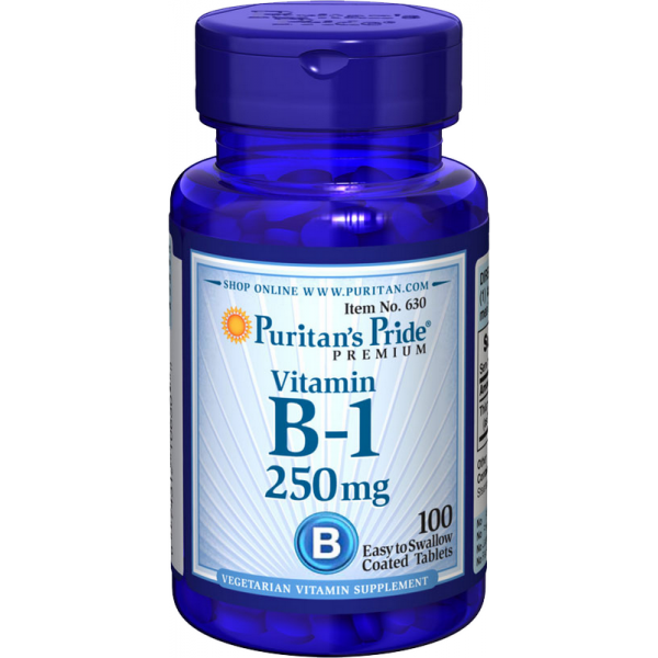 Vitamin B-1 250mg, 100 kapsul