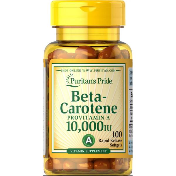 Vitamin A - beta karoten 10.000IU, 100 mehkih kapsul