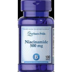 Niacinamid (niacin) 500mg, 100 tablet